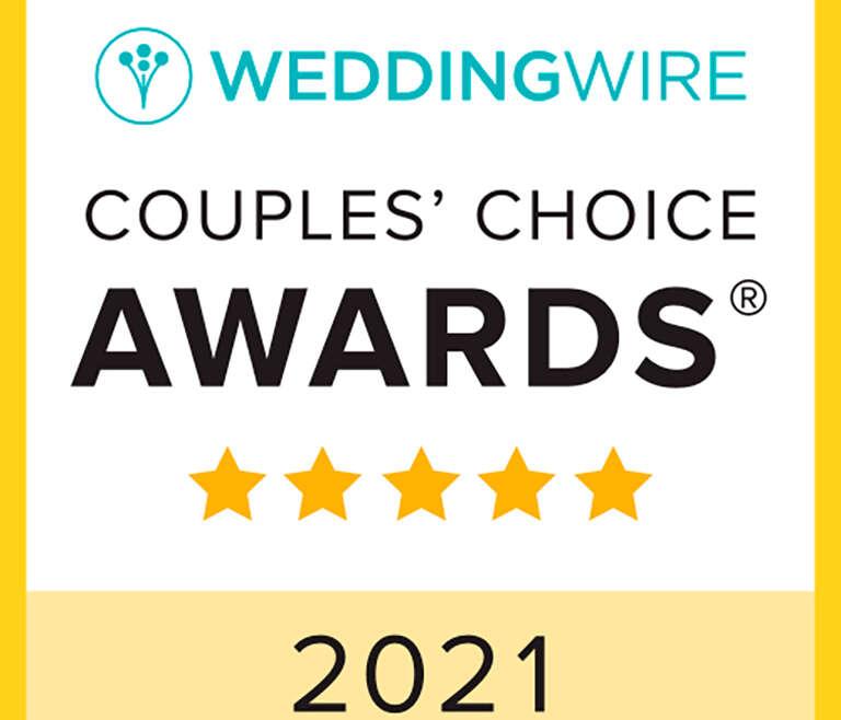 2021 WeddingWire Couples Choice Awards